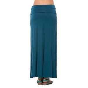 2/$30👗 TEAL High Low Convertible Maxi Skirt Dress